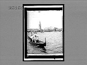 """view Venice--""""White swan of cities, slumbering in thy nest""""--Campanile, Doge's Palace and Prison. 2056 Interpositive digital asset: Venice--""""White swan of cities, slumbering in thy nest""""--Campanile, Doge's Palace and Prison. 2056 Interpositive 1905."""