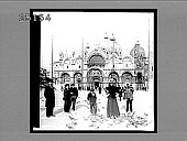 """view San Marco, Venice--""""An oriental poem in marble, mosaic and gold."""" [Active no. 2058 : half-stereo interpositive,] digital asset: San Marco, Venice--""""An oriental poem in marble, mosaic and gold."""" [Active no. 2058 : half-stereo interpositive,] 1898."""