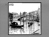 view The Rialto, Grand Canal, Venice. 2063 Interpositive digital asset: The Rialto, Grand Canal, Venice. 2063 Interpositive 1905.