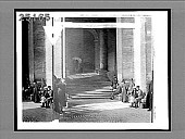 view At the Holy Father's door--sunshine and shadow under a lofty portal of the Vatican, Rome. 2075 Interpositive digital asset: At the Holy Father's door--sunshine and shadow under a lofty portal of the Vatican, Rome. 2075 Interpositive 1903.