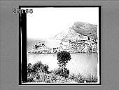 view Portofino, a pictureque hamlet on the Mediterranean coast--near Genoa. 2126 Interpositive digital asset: Portofino, a pictureque hamlet on the Mediterranean coast--near Genoa. 2126 Interpositive 1896