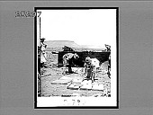 view How the Hindu camp servants bake bread, British camp, Naauwpoort. [Active no. 2796 : non-stereo interpositive.] digital asset number 1
