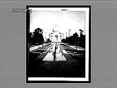 view A marvel of beauty--looking N. to Taj Mahal, marble tomb of a Mogul queen, Agra. [Active no. 3473 : interpositive.] digital asset: A marvel of beauty--looking N. to Taj Mahal, marble tomb of a Mogul queen, Agra. [Active no. 3473 : interpositive.]