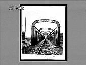 view [Railroad bridge.] 2995 interpositive digital asset: [Railroad bridge.] 2995 interpositive.