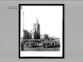 view Britain's soldiers reviewed by Lord Roberts in Public Square of the Boers' fallen capital, Pretoria (June 5, 1900). 3036 Interpositive digital asset: Britain's soldiers reviewed by Lord Roberts in Public Square of the Boers' fallen capital, Pretoria (June 5, 1900). 3036 Interpositive 1900.