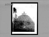 view Abhayagivi Dagoba (1,100 feet circum., 244 feet high), erected 88 B.C., Anuradhapura. Active no. 3783. Interpositive digital asset: Abhayagivi Dagoba (1,100 feet circum., 244 feet high), erected 88 B.C., Anuradhapura. Active no. 3783. Interpositive.