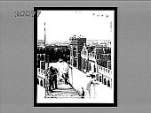 view Foreigners on German Club and City Hall Towers watching Battle of Tientsin--view from German Club Tower. 4244 Interpositive digital asset: Foreigners on German Club and City Hall Towers watching Battle of Tientsin--view from German Club Tower. 4244 Interpositive.