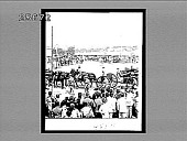 view Honoring the soldier who lived and died a hero--Caisson bearing Gen. Lawton's remains on the Luneta, Manila. 4554 Interpositive digital asset: Honoring the soldier who lived and died a hero--Caisson bearing Gen. Lawton's remains on the Luneta, Manila. 4554 Interpositive.