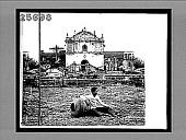 view Church at San Pedro Macati, used as a hospital. 4601 interpositive digital asset: Church at San Pedro Macati, used as a hospital. 4601 interpositive.