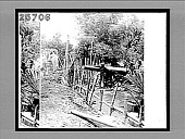 view Gun and Intrenchment captured from the Insurgents at the Battle of the Zapote River. 4622 Interpositive digital asset: Gun and Intrenchment captured from the Insurgents at the Battle of the Zapote River. 4622 Interpositive