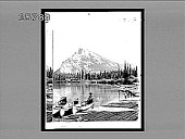 view Mt. Rundel and the Bow, Banff, Alberta. 4819 interpositive digital asset: Mt. Rundel and the Bow, Banff, Alberta. 4819 interpositive.