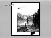view The placid waters of Lake Louise and Mt. Victoria, Rocky Mountains, Alberta. 4827 Interpositive digital asset: The placid waters of Lake Louise and Mt. Victoria, Rocky Mountains, Alberta. 4827 Interpositive.