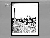 view Third U.S. Cavalry on parade, Camp Tampa, Florida. [Active no. 5106 : non-stereo interpositive.] digital asset: Third U.S. Cavalry on parade, Camp Tampa, Florida. [Active no. 5106 : non-stereo interpositive.]