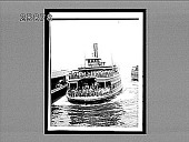 view New Jersey ferryboat bringing morning business crowds into New York City from their homes, 30 miles away. 5286 interpositive digital asset: New Jersey ferryboat bringing morning business crowds into New York City from their homes, 30 miles away. 5286 interpositive,