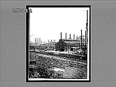 view Steel Works, Homestead--famous source of dirt and dollars. [Active no. 5524 : non-stereo interpositive.] digital asset: Steel Works, Homestead--famous source of dirt and dollars. [Active no. 5524 : non-stereo interpositive.]