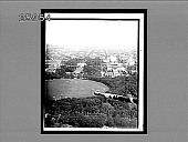 view From Washington Monument (N.), the White House, Treasury and State Department. [Active no. 5581 : black-and-white stereo interpositive.] digital asset: From Washington Monument (N.), the White House, Treasury and State Department. [Active no. 5581 : black-and-white stereo interpositive.]