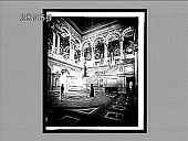 view Decorative splendors of the entrance hall of the great Congressional Library. 5592 interpositive digital asset: Decorative splendors of the entrance hall of the great Congressional Library. 5592 interpositive.