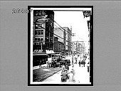 view Street Scene in the largest City of the Mississippi Valley--Broadway. [Active no. 5811 : interpositive.] digital asset: Street Scene in the largest City of the Mississippi Valley--Broadway. [Active no. 5811 : interpositive.]