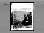 view [View into Grand Canyon; odd rock formations.] 6127 Interpositive digital asset: [View into Grand Canyon; odd rock formations.] 6127 Interpositive.