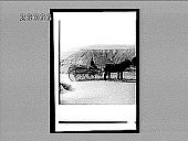 view [Man on cart with team; Grand Canyon in background.] 6162 Interpositive digital asset: [Man on cart with team; Grand Canyon in background.] 6162 Interpositive.