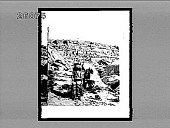view [Hopi Indians in rugged terrain.] 6190 Interpositive digital asset: [Hopi Indians in rugged terrain.] 6190 Interpositive.