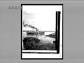 view [Steamboat on wide river in rural setting.] 8024 interpositive digital asset: [Steamboat on wide river in rural setting.] 8024 interpositive.