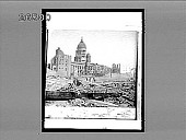 view After the earthquake in San Francisco. Caption No. 8189 : interpositive digital asset: After the earthquake in San Francisco. Caption No. 8189 : interpositive.