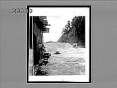 view [Flooding river rapids.] 8421 interpositive digital asset: [Flooding river rapids.] 8421 interpositive.