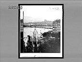 view [Monument and city harbor.] 8457 interpositive digital asset: [Monument and city harbor.] 8457 interpositive.