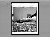 view [Steamboat plows through heavy ice under Brooklyn Bridge.] 8899 interpositive digital asset: [Steamboat plows through heavy ice under Brooklyn Bridge.] 8899 interpositive.