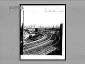 view [Dual rail lines in harbor area.] 9162 interpositive digital asset: [Dual rail lines in harbor area.] 9162 interpositive.