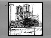 view The most celebrated cathedral in France--Notre Dame. [Active no. 9576 : stereo interpositive.] digital asset: The most celebrated cathedral in France--Notre Dame. [Active no. 9576 : stereo interpositive.]