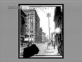 view [Street scene.] 9854 Interpositive digital asset: [Street scene.] 9854 Interpositive.