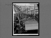 view Looms that produce woolen fabrics in the largest weaving room in America. 10798 interpositive digital asset: Looms that produce woolen fabrics in the largest weaving room in America. 10798 interpositive 1909.