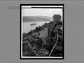 view Southeast across Bosporus from first Turkish citidel of Europe. [Active no. 11180 : interpositive.] digital asset: Southeast across Bosporus from first Turkish citidel of Europe. [Active no. 11180 : interpositive.]