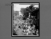 view Typical view of the people of Caracas in the market-place. 11192 Interpositive digital asset: Typical view of the people of Caracas in the market-place. 11192 Interpositive.
