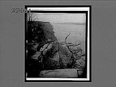 view Looking north along the precipitous Palisades, Hudson River. interpositive digital asset: Looking north along the precipitous Palisades, Hudson River. interpositive.
