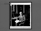 view The President at his desk, Executive Office. Woodrow Wilson, 28th President of the United States. [Active no. 11252 : non-stereo interpositive.] digital asset: The President at his desk, Executive Office. Woodrow Wilson, 28th President of the United States. [Active no. 11252 : non-stereo interpositive.]