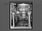 view Turks at prayer in St. Sophia Mosque (originally a church). 11263 Interpositive digital asset: Turks at prayer in St. Sophia Mosque (originally a church). 11263 Interpositive.