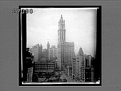 view Woolworth Building, tallest in the world, product of five and ten cent pieces. [Active no. 11403 : half-stereo interpositive] digital asset: Woolworth Building, tallest in the world, product of five and ten cent pieces. [Active no. 11403 : half-stereo interpositive, 1913 or later].
