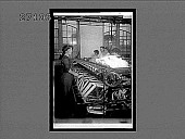 view Winding the fine raw silk in a large American silk throwing plant, Paterson, N.J. 11436 interpositive digital asset: Winding the fine raw silk in a large American silk throwing plant, Paterson, N.J. 11436 interpositive.