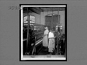 view Machines that double and spin for the warp, silk throwing plant, Paterson, N.J. 11437 interpositive digital asset: Machines that double and spin for the warp, silk throwing plant, Paterson, N.J. 11437 interpositive.