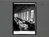 "view ""Finishing"" silk skeins after dyeing and making into bales to send to weavers, Paterson, N.J. 11443 interpositive digital asset: ""Finishing"" silk skeins after dyeing and making into bales to send to weavers, Paterson, N.J. 11443 interpositive 1913."