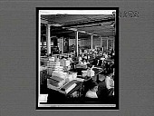view In the folding and making-up room--rolls of finished silk ready for the market, Paterson Silk Works. 11457 interpositive digital asset: In the folding and making-up room--rolls of finished silk ready for the market, Paterson Silk Works. 11457 interpositive 1913.