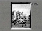 view A fine residence and typical street scene of Barranquilla, Colombia. 11494 Interpositive digital asset: A fine residence and typical street scene of Barranquilla, Colombia. 11494 Interpositive 1906