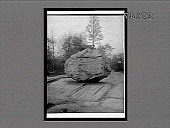 view Work of a glacial age--30-ton boulder left on glacier grooved native rock, Bronx Park. 11504 Interpositive digital asset: Work of a glacial age--30-ton boulder left on glacier grooved native rock, Bronx Park. 11504 Interpositive 1913.