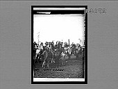 view Feathered and mounted braves of the warlike Sioux Indians, Nebraska. 11505 Interpositive digital asset: Feathered and mounted braves of the warlike Sioux Indians, Nebraska. 11505 Interpositive 1905.