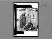 view Home life of the Sac and Fox Indians, showing sleeping papoose, S. & F. Reservation, Oklahoma. 11506 Interpositive digital asset: Home life of the Sac and Fox Indians, showing sleeping papoose, S. & F. Reservation, Oklahoma. 11506 Interpositive 1905.
