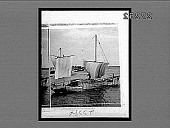 view [Sailboats on wide river in Japan.] 23384 Interpositive digital asset: [Sailboats on wide river in Japan.] 23384 Interpositive 1896