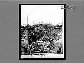 view [Damaged railroad equipment.] 24079 interpositive digital asset: [Damaged railroad equipment.] 24079 interpositive.